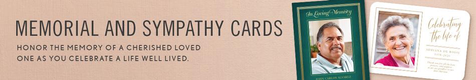 Memorial & Sympathy Cards