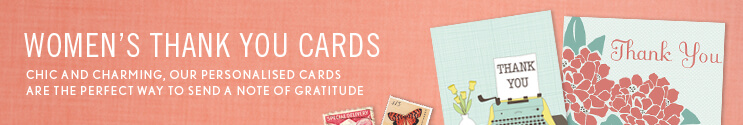 Thank You Cards for Women