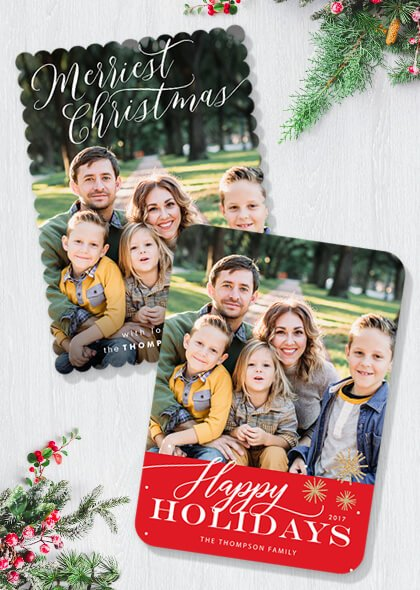 custom recommendations - Costco Christmas Photo Cards