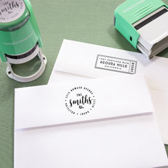 Self-Inking<br>Stamps