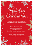 Holiday Party Invitations